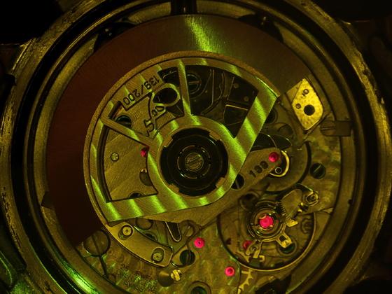 Fluoreszenz-Chronograph